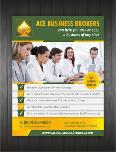 ace business brokers flyer